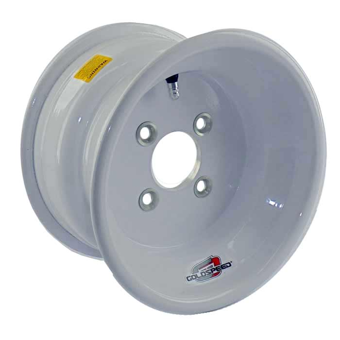 Goldspeed White Wheel 10x6 3+3 4/100 Conical