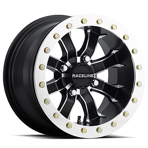 RACELINE MAMBA BEADLOCK WHEEL Polished