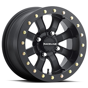 Raceline Mamba Beadlock Wheel - Black Ring