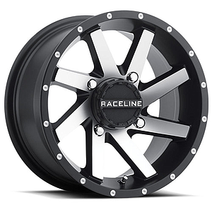 RACELINE TWIST WHEEL Black/Silver