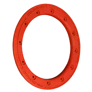 GOLDSPEED Polymer Carbon BEADLOCK RING - Red