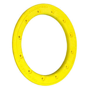 GOLDSPEED Polymer Carbon BEADLOCK RING - Yellow