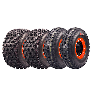 BPR P356 22x7-10 and P357 20x11-9 Set Tire