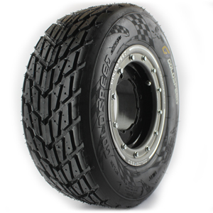 GOLDSPEED CR Yellow Tire 165/70-10