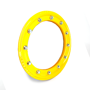 "GOLDSPEED Beadlock Ring 10"" Alu Yellow"