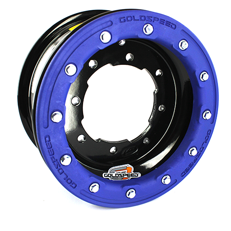 GOLDSPEED Wheel 10x5 4+1 4/144/156 Beadlock PC Blue
